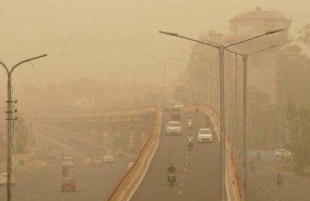 Slice air contamination to battle environmental change