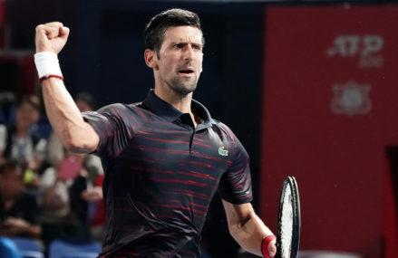 After Fifty Minutes Novak Djokovic Walks Around Tokyo Elimination Rounds