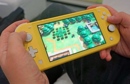 Nintendo's Switch Lite helps support hardware sales by in excess of 50 percent