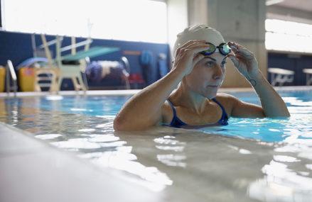 Swimming and profound brain stimulation don't blend